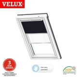 VELUX Manual Duo Blackout Blind DFD SK10 1100S - Blue/White