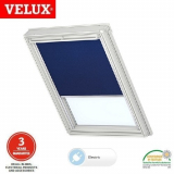 VELUX DML MK04 2055S Electric Blackout Blind - Blue Thermo
