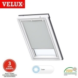 VELUX Solar Powered Blackout Blind DSL MK06 1705S - Light Grey