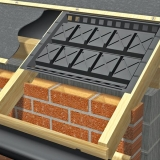 Manthorpe Cross Flow Panel Vent - 600mm Rafter Centres (Box Of 50)