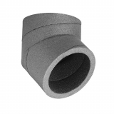 Ducting Ventilation Rigid Insulated Ductwork 45 Degree Bend - 180mm