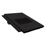 Manthorpe Non-Profile In-line Roof Tile Vent - Black
