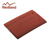 Redland Concrete Plain Roof Tile Smooth - Rustic Red