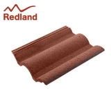 Redland Regent Concrete Profiled Roof Tile Smooth - Farmhouse Red