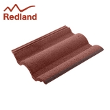 Redland Regent Concrete Profiled Roof Tile Smooth - Rustic Red
