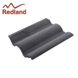 Redland Regent Concrete Profiled Roof Tile Smooth - Slate Grey