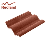Redland Regent Concrete Profiled Roof Tile Smooth - Terracotta