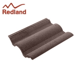 Redland Regent Concrete Profiled Roof Tile Smooth - Tudor Brown