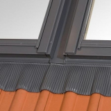 RoofLITE 55cm x 98cm 2x Flashings Side by Side for Slates and Tiles