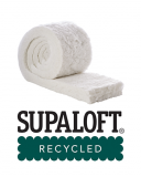 Supaloft Recycled Polyester Non-Itch Insulation 100mm x 370mm - 7.22m2