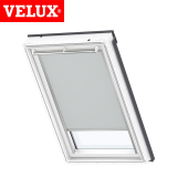 VELUX Manual Blackout Blind DKL C02 1705 - Light Grey