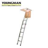 Youngman Spacemaker Loft Ladder 2 Section - 1.45m to 2.6m