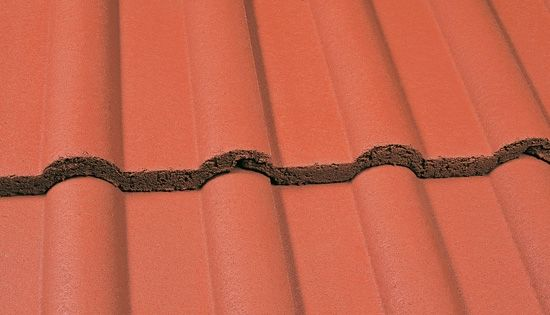 Marley Double Roman Roof Tile Mosborough Red Roofing