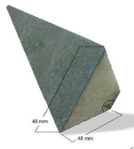 Renasco Pir Bitumen Angle Fillet 48mm X 48mm X 1200mm